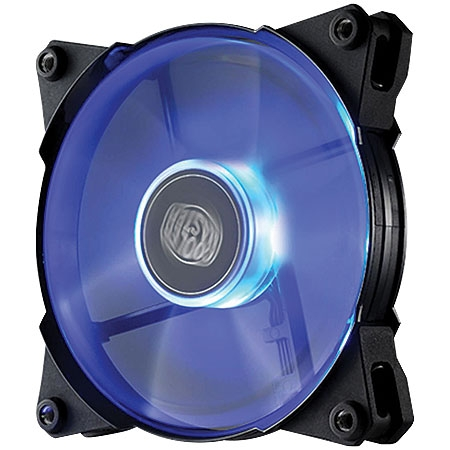 Cooler JetFlo 120mm LED Azul R4-JFDP-20PB-R1 (Alto Desempenho) - Coolermaster