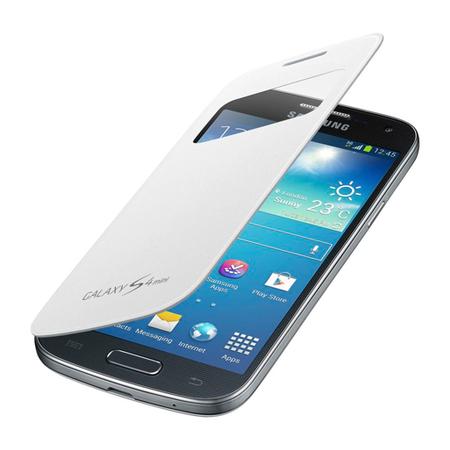 Capa S View Branca para Galaxy S4 Mini EF-CI919BWEGWW - Samsung