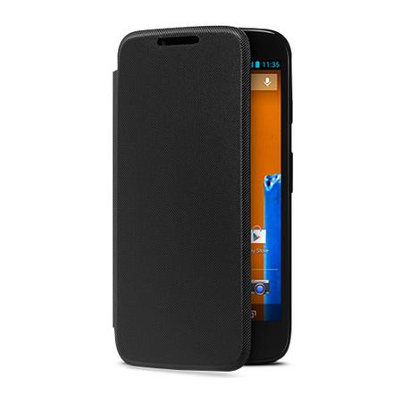Capa Flip Shell para Moto G Original Cor Preto 11220N - Motorola