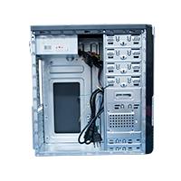 Gabinete ATX 4 Baias  C/Fonte Preto/Prata G4-10S - Evus