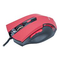 Mouse Óptico Gamer Predador MG-04 USB Vermelho 3200DPI - Evus