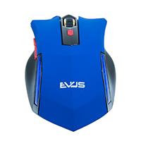 Mouse Óptico Gamer Predador MG-03 USB Azul 3200DPI - Evus
