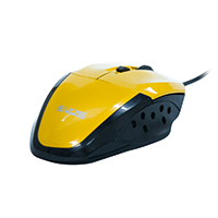 Mouse �ptico Gamer Precision MG-08 USB Amarelo 1600DPI - Evus