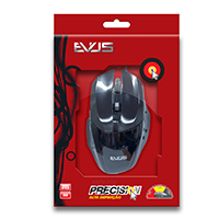 Mouse �ptico Gamer Precision MG-05 USB Preto 1600DPI - Evus