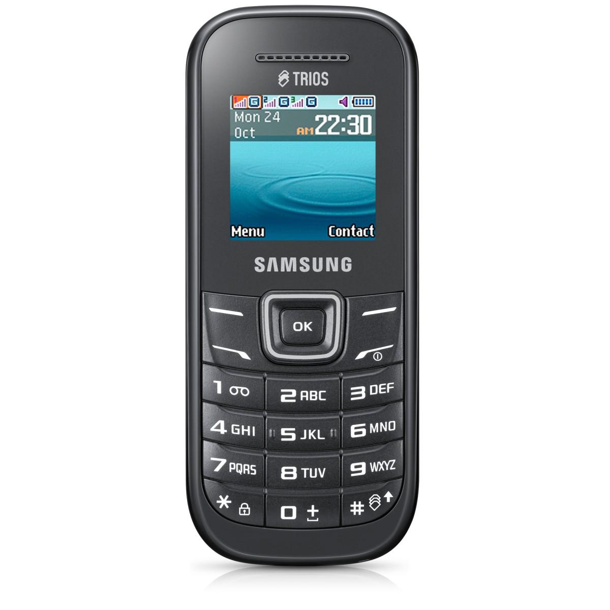 Celular E1203 Trip Chip - Radio FM Toques MP3 - Samsung