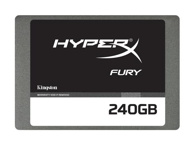 SSD Gamer Hyper X SHFS37A/240G Fury 240GB 2,5 Sata III Blister - Kingston