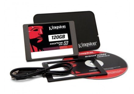 SSD 120GB V300 Sata III 2.5 com Kit Notebook SV300S3N7A/120G - Kingston