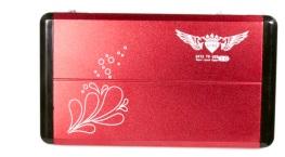 Case 2,5 USB 3.0 de Alum�nio Vermelho CS0007R - Fly Ace