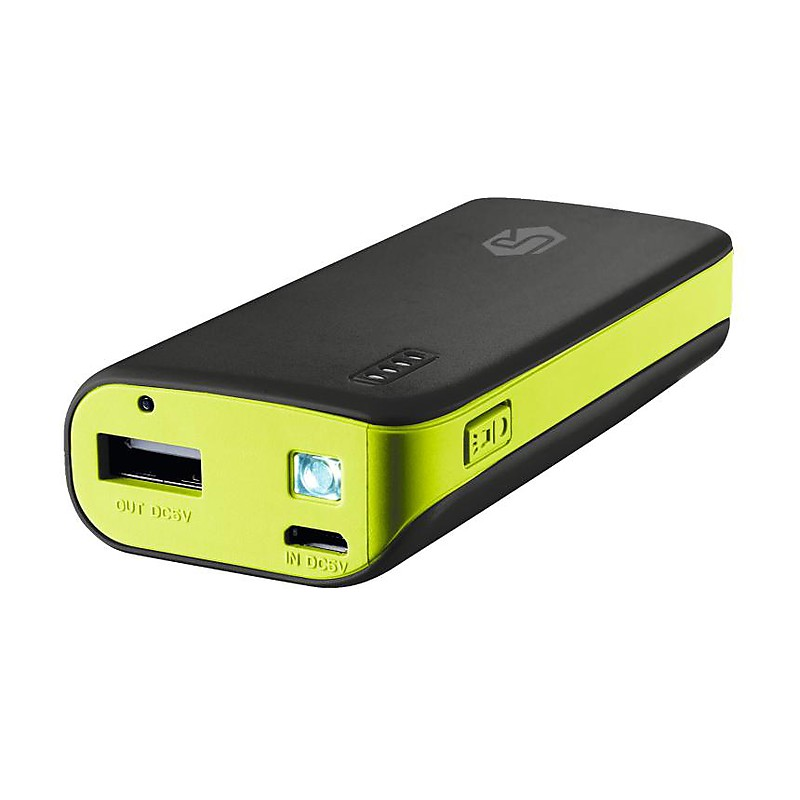 Carregador Portátil Power Bank 4400mAh 19857 Preto - Trust