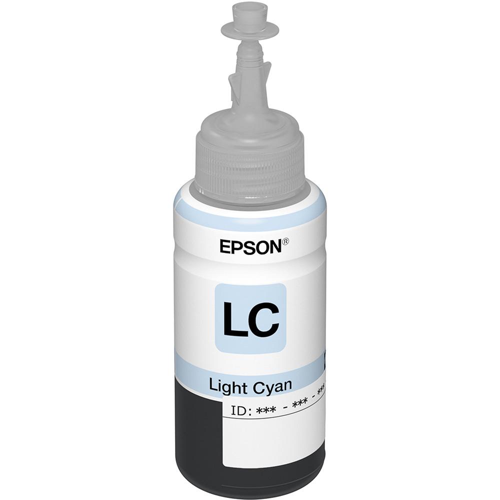 Refil de Tinta T673520-AL Ciano Claro Para L800 - Epson
