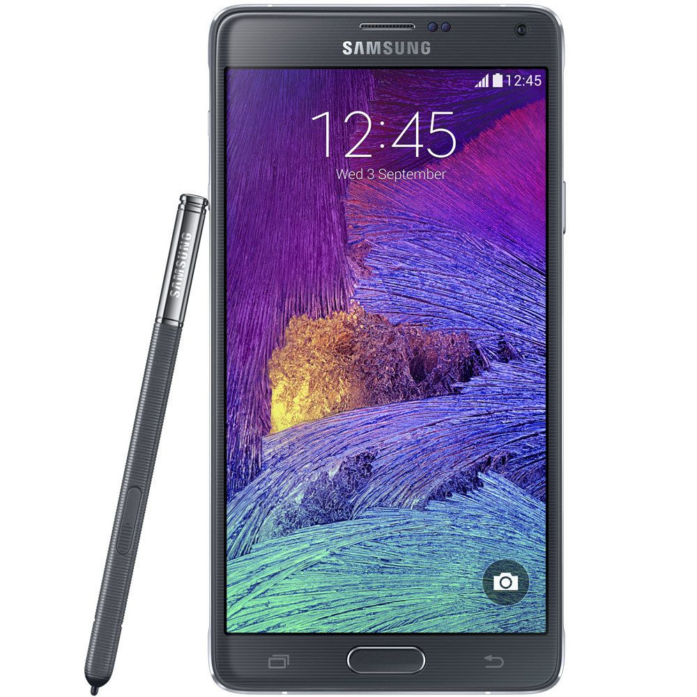 Smartphone Galaxy Note 4, 4G, Android 4.4, Câmera 16MP, 32GB N910C Preto - Samsung