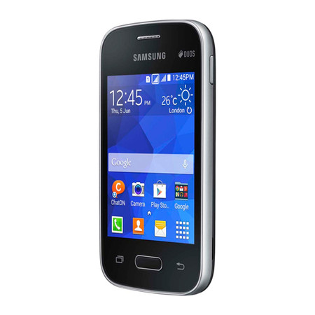 Smartphone Galaxy Pocket 2 Duos SM-G110B Preto, Android 4.4, Pro 1GHz, Tela 3.3,4GB,C�m 2MP, 3G - Samsung