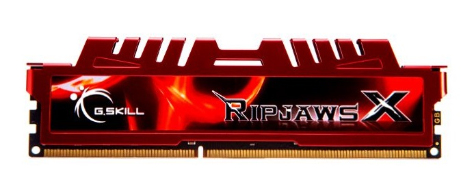 Memória 4GB 1600Mhz Ripjaws X DDR3 F3-12800CL9S-4GBXL - G.Skill