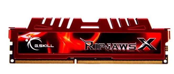 Memória de 8GB DDR3 1600Mhz Ripjaws X F3-12800CL10S-8GBXL - G.Skill