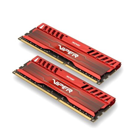 Memória Viper 3 Venom Red 8GB (2x4GB) DDR3 1866MHz PV38G186C9KRD - Patriot