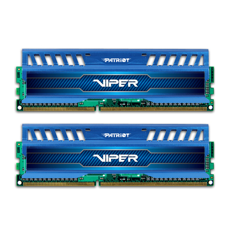 Mem�ria Viper3 Series Blue 16GB (2x8GB) 2133MHz DDR3 PV316G213C1KBL - Patriot