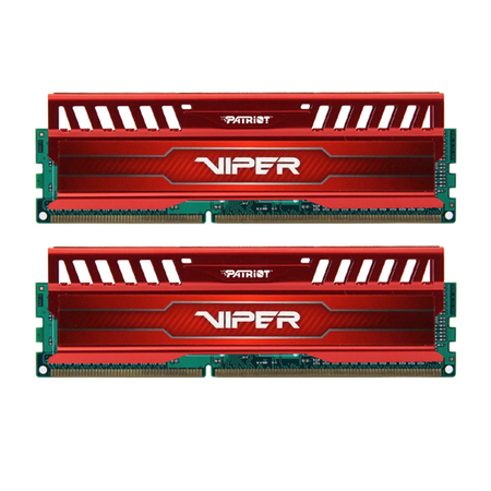 Mem�ria Viper 3 Red 16GB (2x8GB) 1600MHz DDR3 PV316G160C9KRD - Patriot