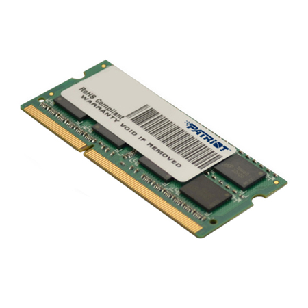 Memória para Notebook 4GB DDR3 1600MHz CL11 PSD34G1600L2S - Patriot