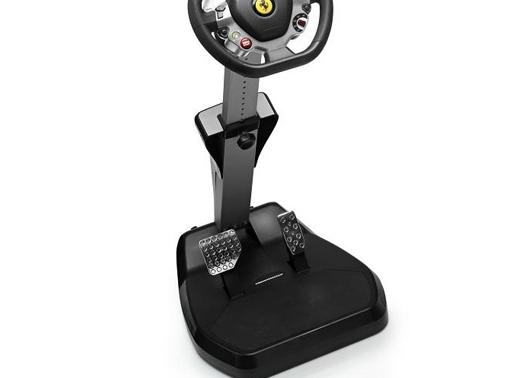 VolanteGamer Cockpit Ajustável Ferrari Vibration GT 458 ItáliaEdition Para PC, XBOX 360 - Trustmaster