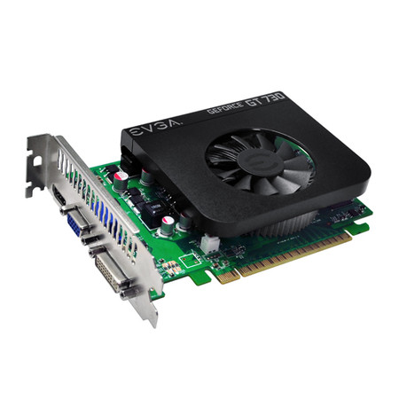 Placa de Vídeo Geforce GT730 1GB DDR5 128 bits 01G-P3-3736-KR - EVGA