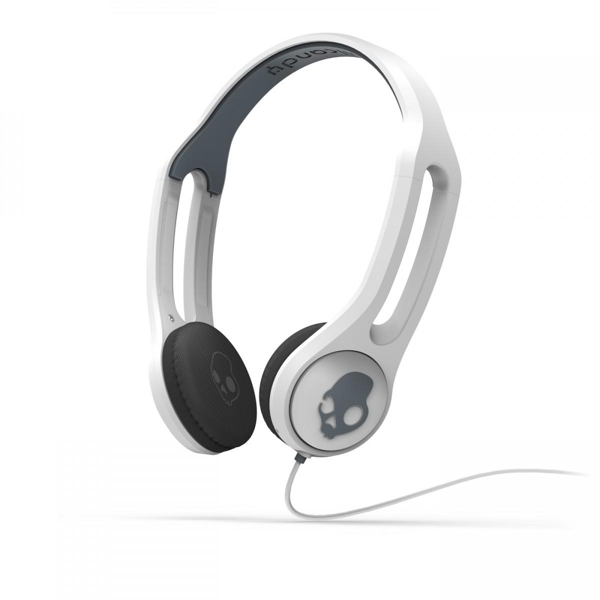 Fone de Ouvido c/ Microfone ICON3 Branco com Toque na Concha para Smartphones S5IHDY-072 - Skullcand -