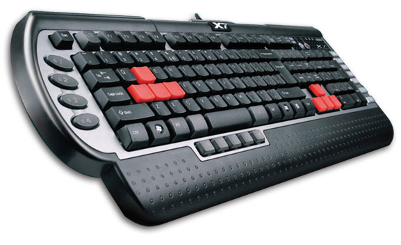 Teclado Multim�dia Gamer USB G800V - A4tech