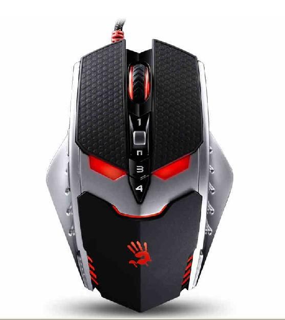 Mouse Bloody Gamer Laser 9 Bot�es Terminator TL8 8200dpi - A4tech