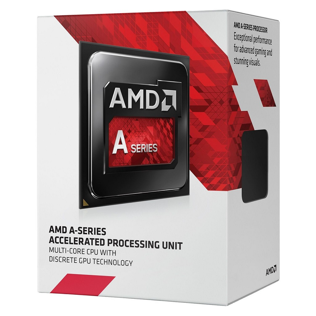 Processador FM2 A4 7300 Dual Core 3.8Ghz (4.0Ghz Turbo) AD7300OKHLBOX - AMD