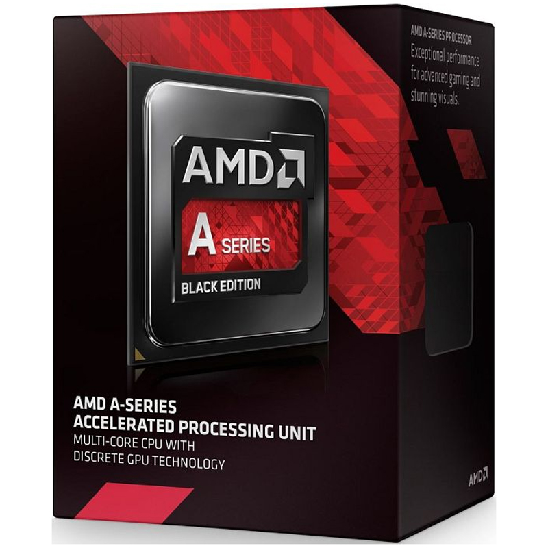 Processador A6 7400K 3.9Ghz 1MB Black Edition AD740KYBJABOX BOX - AMD