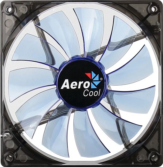 Cooler Fan 140x140 Lightning Blue EN51400 - Aerocool