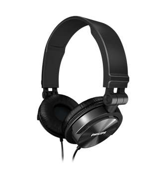 Headphone SHL3050BK/00 Preto DJ - Philips