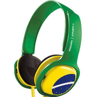 Headphone O´Neill SHO3300BZ/00 Brasil - Philips