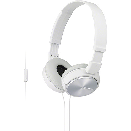 Headphone MDR-ZX310AP/BQ Branco - Sony