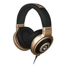 Headset Gamer Kraken Epanda Hooligan RZ12-00870300-R3M1 Preto Dourado - Razer