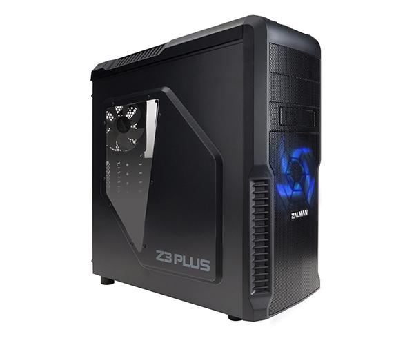 Gabinete ATX ZM-Z3 Plus Black - Zalman
