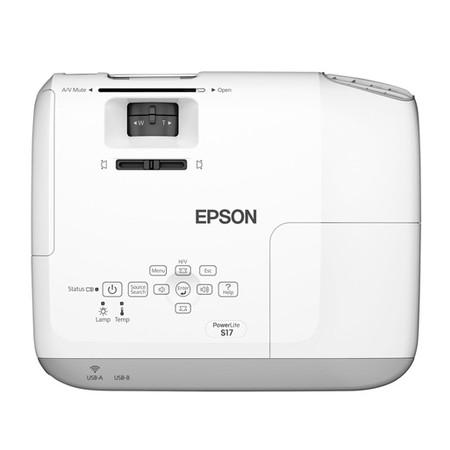 Projetor Multimídia PowerLite S17 2700 Ansi Lumens - Epson