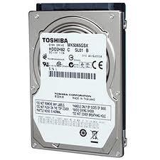 Hard Disk 500GB para Notebook 2.5 MK5059GSXP - Toshiba