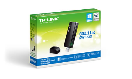 Adaptador USB Wireless Dual Band AC1200 T4U - Tplink