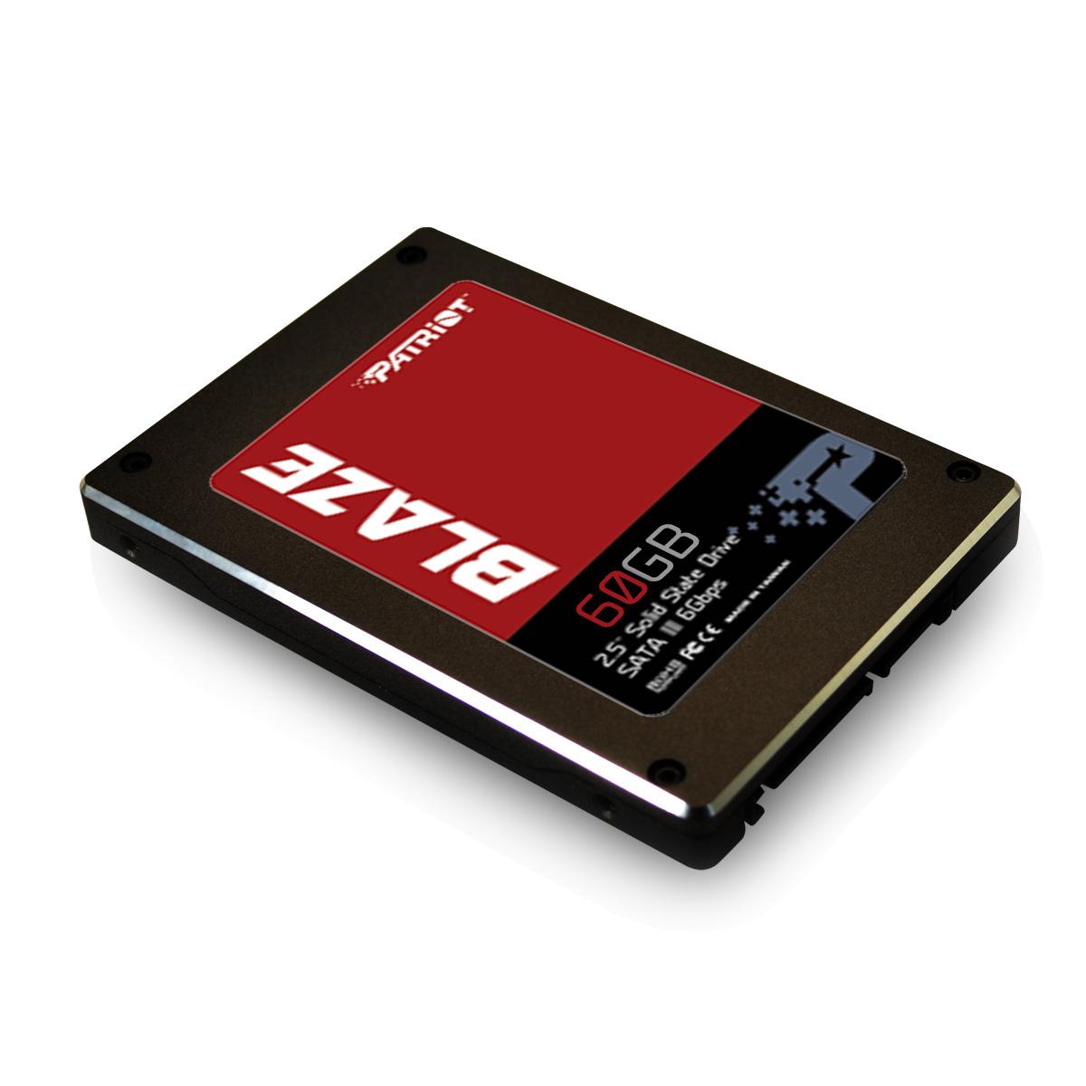 SSD 60GB Blaze Sata III 2.5 7mm PB60GS25SSDR - Patriot