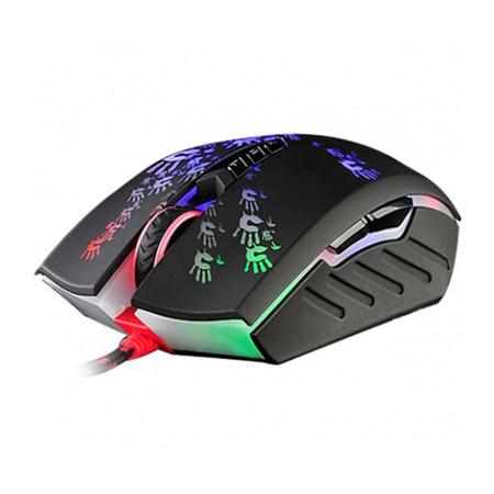 Mouse Gamer A6A 8Bot�es 4000CPI Preto Bloody Blazing - A4tech