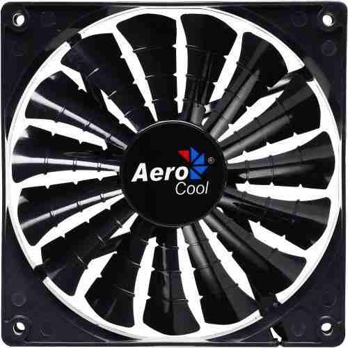 Cooler FAN EN55413 12cm Shark Black Edition - Aerocool