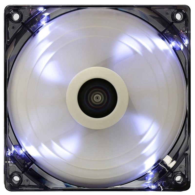 Cooler para Gabinete 14CM LED Branco AIR FORCE EN51516 - Aerocool