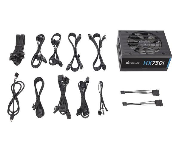 Fonte Modular 750W HX750I Series 80 Plus Platinum CP-9020072 - Corsair