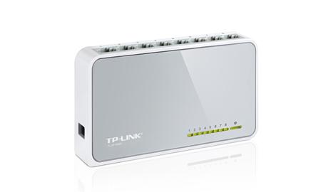 Switch 8 Portas 10/100Mbps TL-SF1008D - Tplink
