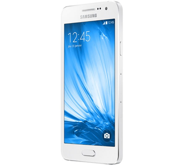 Smartphone Galaxy A3 A300M, Quad Core, Tela 4.5, 16GB, 8MP, 4G, Dual Chip, Branco - Samsung