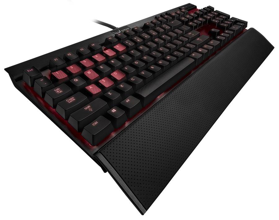 Teclado Mecânico Gaming K70 LED Vermelho (Cherry MX Vermelho) CH-9000069-NA - Corsair
