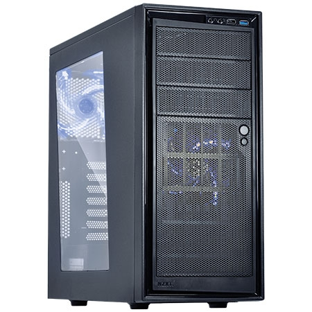 Gabinete S/Fonte Mid Tower Source 220 Preto CA-S220W - NZXT