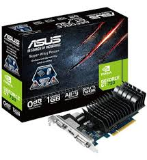 Placa de Vídeo Geforce GT730 1GB DDR3 384 Cuda Core GT730-SL-1GD3-BRK - Asus