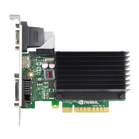 Placa de Vídeo Geforce GT730 1GB DDR3 64Bits 01G-P3-1731-KR - EVGA