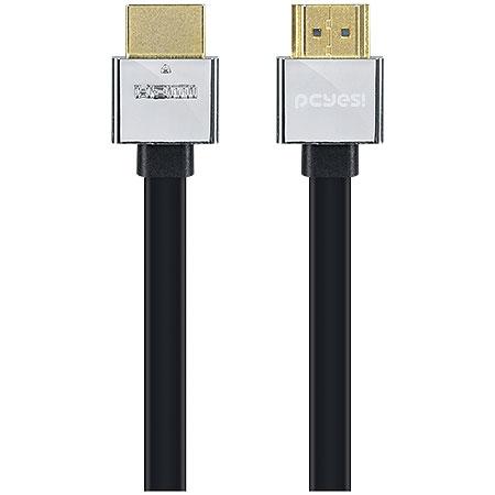 Cabo HDMI 1.4V 1080P Conector de Metal tipo Flat 2 metros 22481 - PCYES